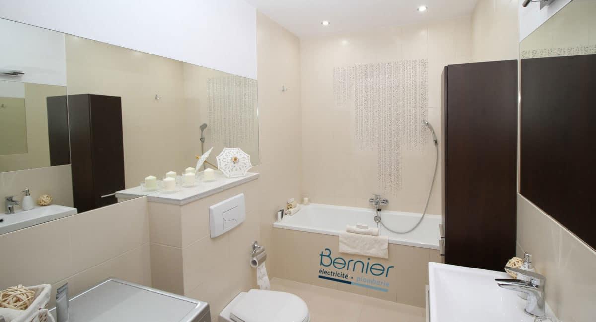 Comment Aménager Sa Salle De Bains Bernier Electricité Plomberie - Comment aménager sa salle de bain
